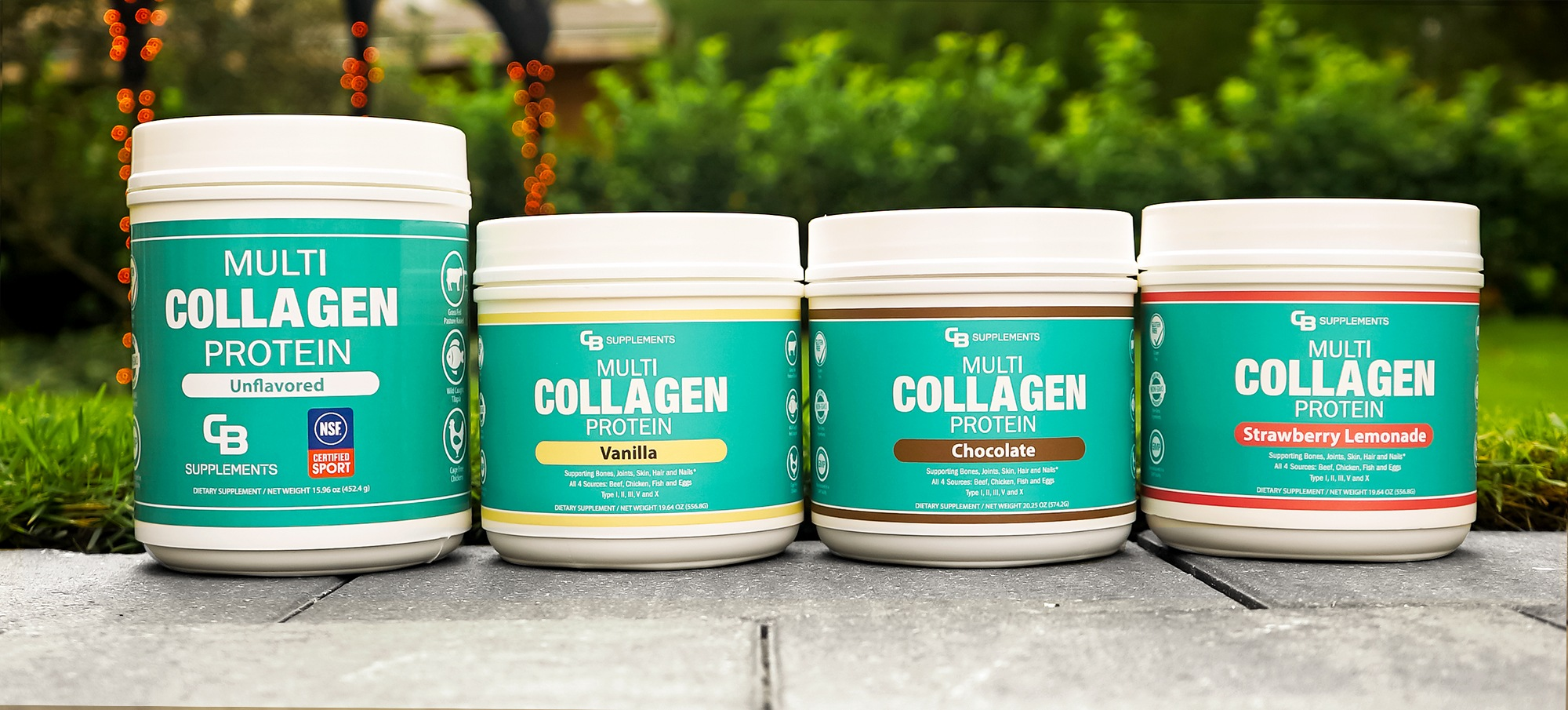 Multi Collagen Bundle 4 Containers