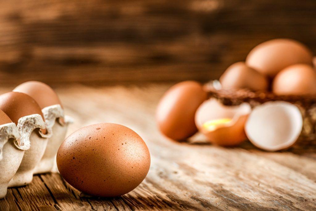 Eggs contain collagen